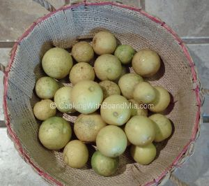 Basket of Limes CBM c