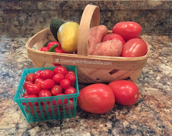 CBM - Basket of Veggies